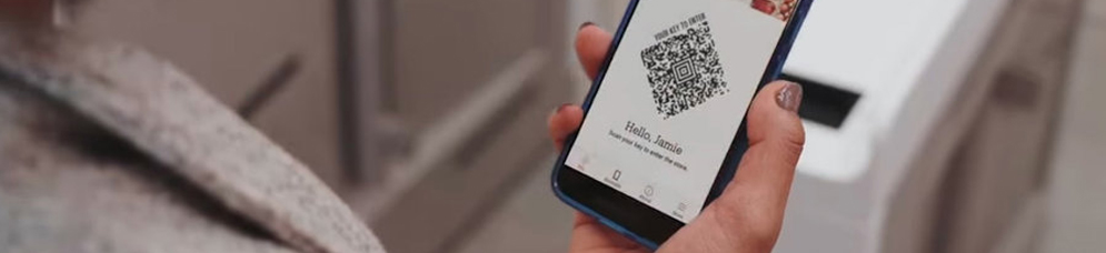 Amazon utilse des codes QR