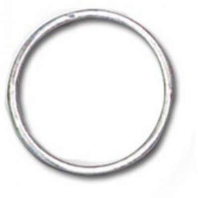 """BRADY PEOPLE ID, 1"""" ROUND EDGE SPLIT NICKLE PLATED RINGS, SOLD IN BAGS OF 100, PRICED PER BAG"""