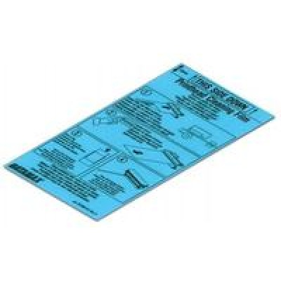 CLEANING FILM-4IN (3PK)SUPL