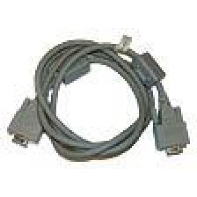 Cross cable between DT-964IOE and PC (9 pin female)