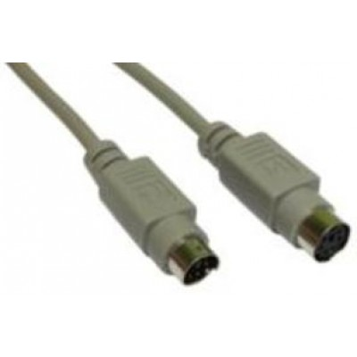 3M PS/2 6-PIN DIN M-F DATA CABLE GREY