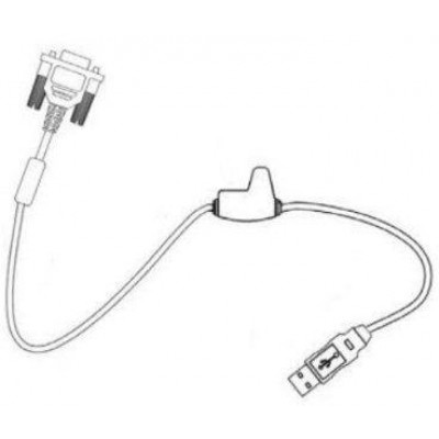 USB connection cable for Vuquest 33x0g, straight, 2.9m