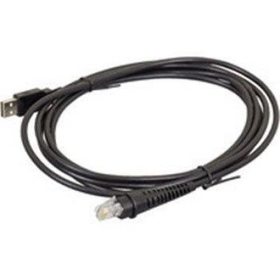 USB cable, Type A, 2,9m (9.5´), straight, host power, colour: black