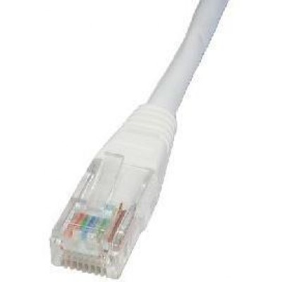 PATCH CABLE 3M CAT5E UTP WHITE
