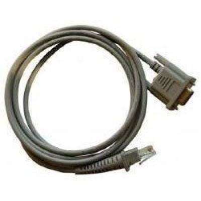 Datalogic RS232 cable, straight IBM