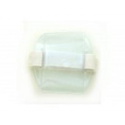 BRADY PEOPLE ID, ARM BAND BADGE HOLDER -VERTICAL, WHITE, SOLD IN PACKS OF 25, PRICED PER PACK