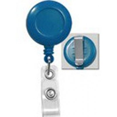 BRADY PEOPLE ID, ECONOMY BADGE REEL WITH VINYL STRAP AND SLIDE CLIP, BAG OF 25, PIECED AND SOLD IN FULL BAGS ONLY