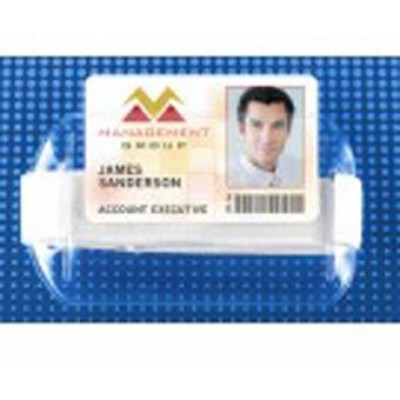 BRADY PEOPLE ID, ARM BAND BADGE HOLDER-HORIZONTAL, BAG OF 25, PIECED AND SOLD IN FULL BAGS ONLY