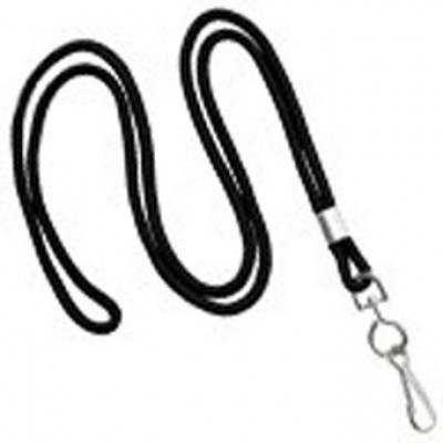 """BRADY PEOPLE ID, LANYARD, 1/8"""", NON BREAKAWAY, SWIVEL HOOK, BAG OF 100, PIECED AND SOLD IN FULL BAGS ONLY"""