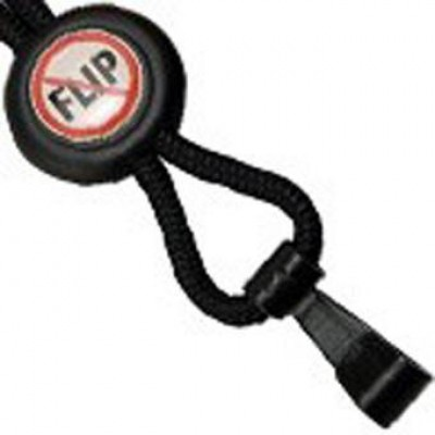 BRADY PEOPLE ID, NO-FLIP LANYARD, BLACK PACK OF 100