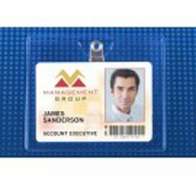 BRADY PEOPLE ID, PREMIUM BADGE HOLDER - CLIP-ON, X-LARGE CONVENTION- PACKED AND SOLD IN UNITS OF 100