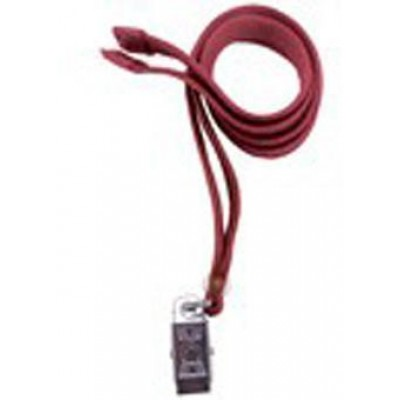 """BRADY PEOPLE ID, 3'8"""" WIDE BREAKAWAY LANYARD WITH CLIP END FITTING, PACK OF 100, MOQ OF 1 PACK"""