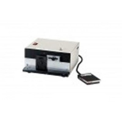 BRADY PEOPLE ID, STANDARD ELECTRIC LOST PUNCH W/ADJUSTABLE GUIDES, FOOT SWITCH, 110V, SLOT SIZE 1/8 X 9/16