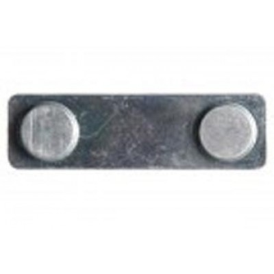 BRADY PEOPLE ID, TWO PIECE MAGNET SET, ZINC PLATED, PACK OF 50