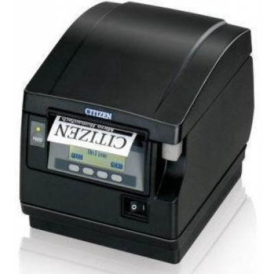 CT-S851 Thermal Receipt Printer (Front Exit, Ethernet, WiFi) - Color: Black)