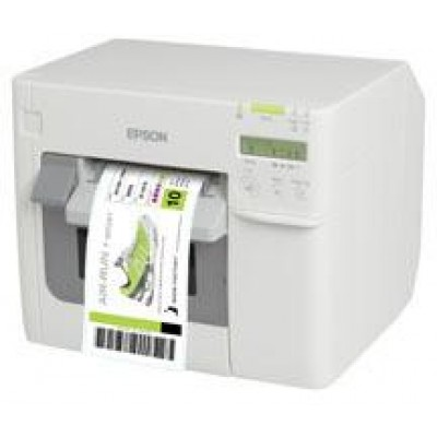 EPSON, DISCONTINUED, REFER TO C31CD54A9991, TM-C3500, COLORWORKS INKJET PRINTER, ETHERNET & USB, POWER SUPPLY INCLUDED, CABLE NOT INCLUDED, NOT DHCP ENABLED