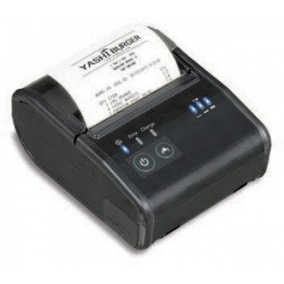 EPSON, TM-P80, WIRELESS RECEIPT PRINTER, 3 INCH, BLUETOOTH, EPSON BLACK, BATTERY, BELT CLIP, USB CABLE, REQUIRES PS-11 OR OT-CH60II TO BE CHARGED