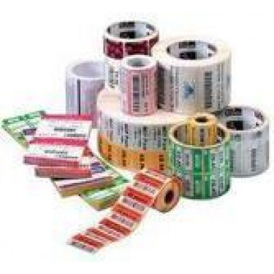 """ZEBRA, CONSUMABLES, Z-ULTIMATE 3000T POLYESTER LABEL, THERMAL TRANSFER, 1.75"""" X 0.75"""", 3"""" CORE, 8"""" OD, 7160 LABELS PER ROLL, PERFORATED, 4 ROLLS PER CASE, PRICED PER ROLL"""
