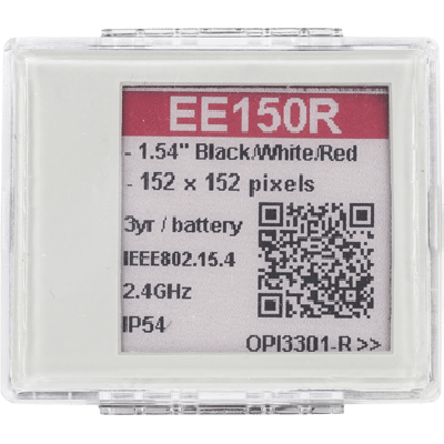 Opticon EE150 Electronic Paper 1,5'' red color