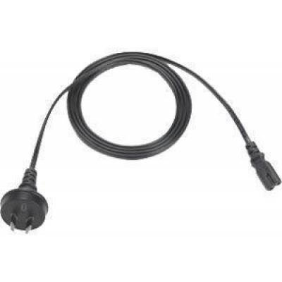 AC Line Cord, 1.8M un-grounded, two wire AS 3112 plug. Associated Countries: Australia and New Zealand