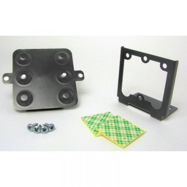 pcProx Black Angle Mounting Bracket w/Cable Clips