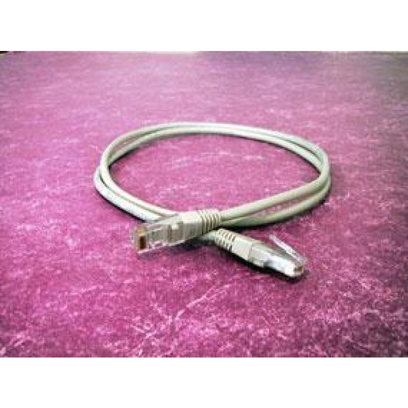 PATCH CABLE 1M CAT5E UTP GREY