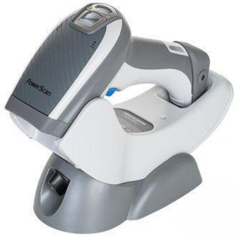 Datalogic PowerScan PBT9500-RT, BT, 2D, SR, Digimarc, Kit (RS232), blanco, gris