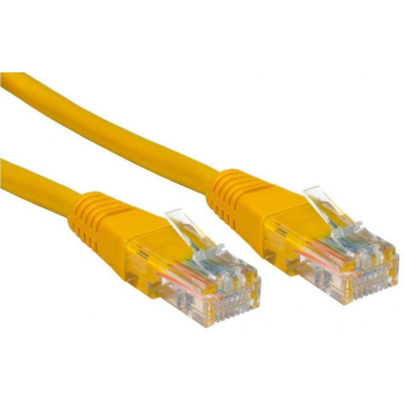 PATCH CABLE 2M CAT5E UTP YELLOW