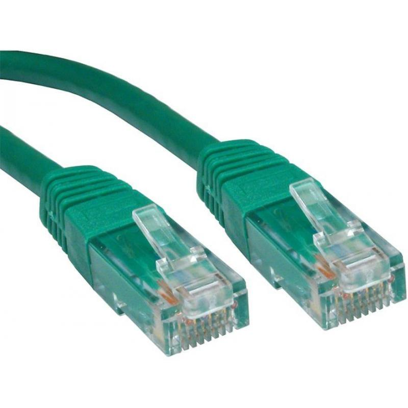 PATCH CABLE 1M CAT6 UTP GREEN