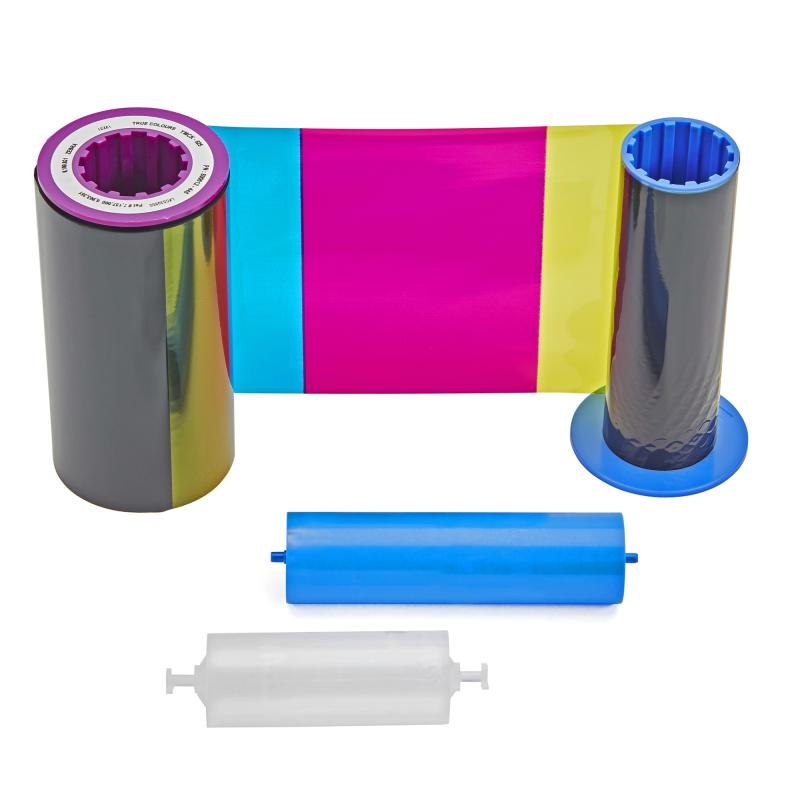 Ribbon, YMCKI, 500 images (single-sided) or 250 images (dual-sided), fits for: ZXP Series 8, ZXP Series 9