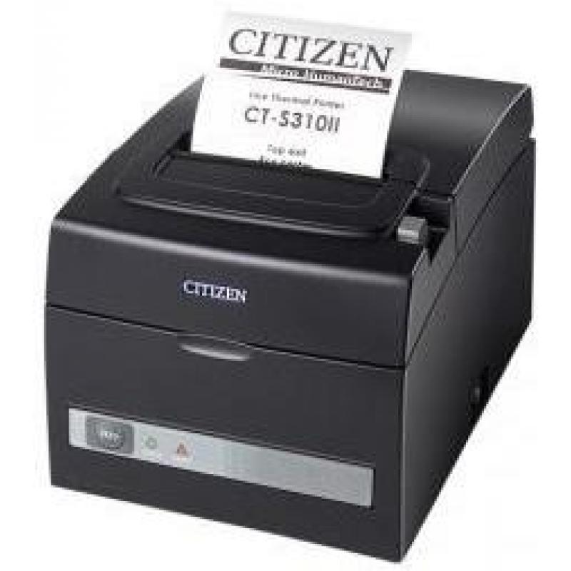 Citizen CT-S310II, interface dual, 8 Puntos / mm (203 dpi), cortador, blanco