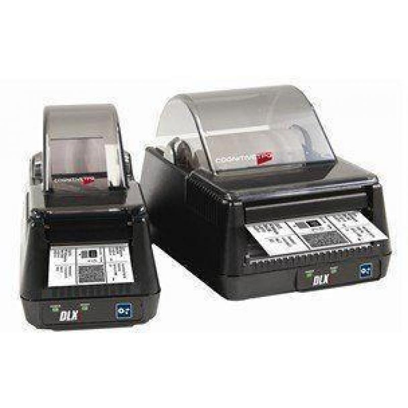 DLXi Direct Thermal Barcode Printer (203 dpi, 5 ips, 2.4 Inch, 8MB, 100-240VAC, Parallel, USB, US)