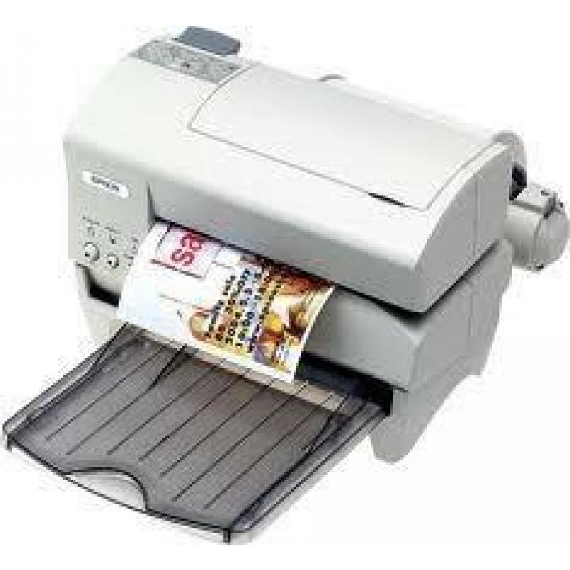 Inkjet Printer Slip +Paper Roll(black). USB Interface.Include power supply(PS-180). MIN QTY: 2 UNITS!!!