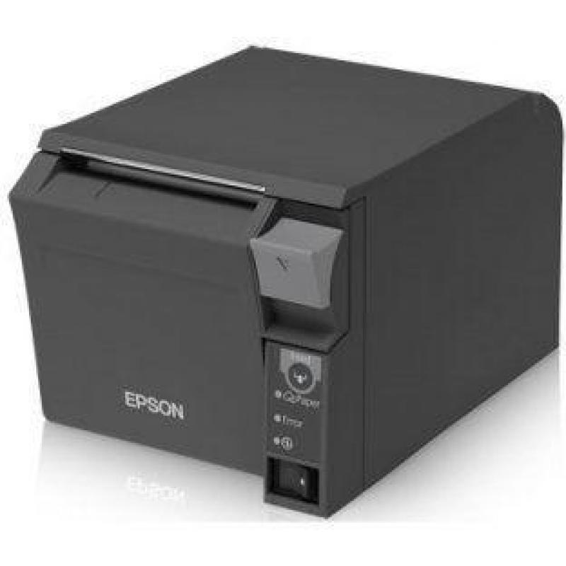 T70II, Space-Saving, Serial and USB, Power Supply, Dark Gray