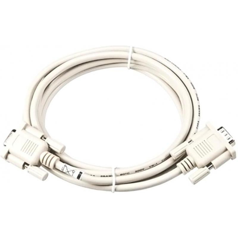 RS232 cable, 1.8m, DB9F - DB9M