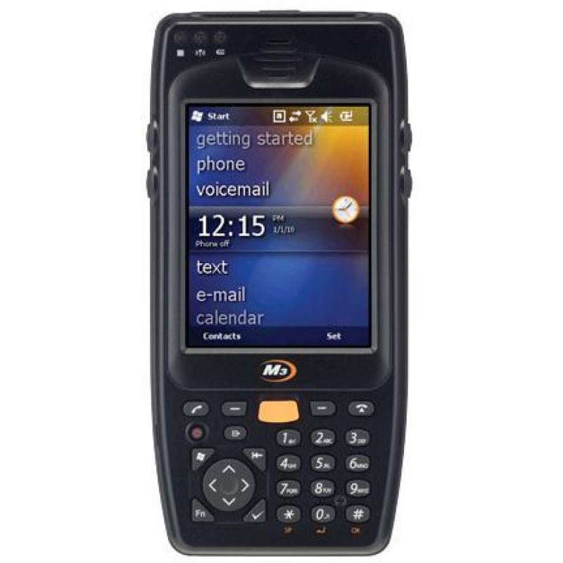 Windows Embedded Handheld 6.5, VGA LCD, UMTS/HSPA+, 802.11 a/b/g/n, SE965 1D Laser Scanner, Camera, BT, GPS, AN key, 512MB/4G, Standard Battery, Stylus are included. Requires Cradle and Power Supply for charging. (sold separately)