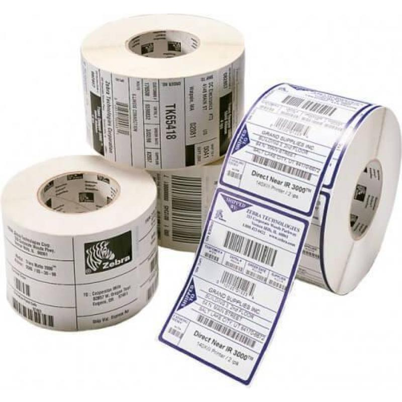 LABEL, PAPER, 101.6X76.2MM_ DIRECT THERMAL, Z-PERF