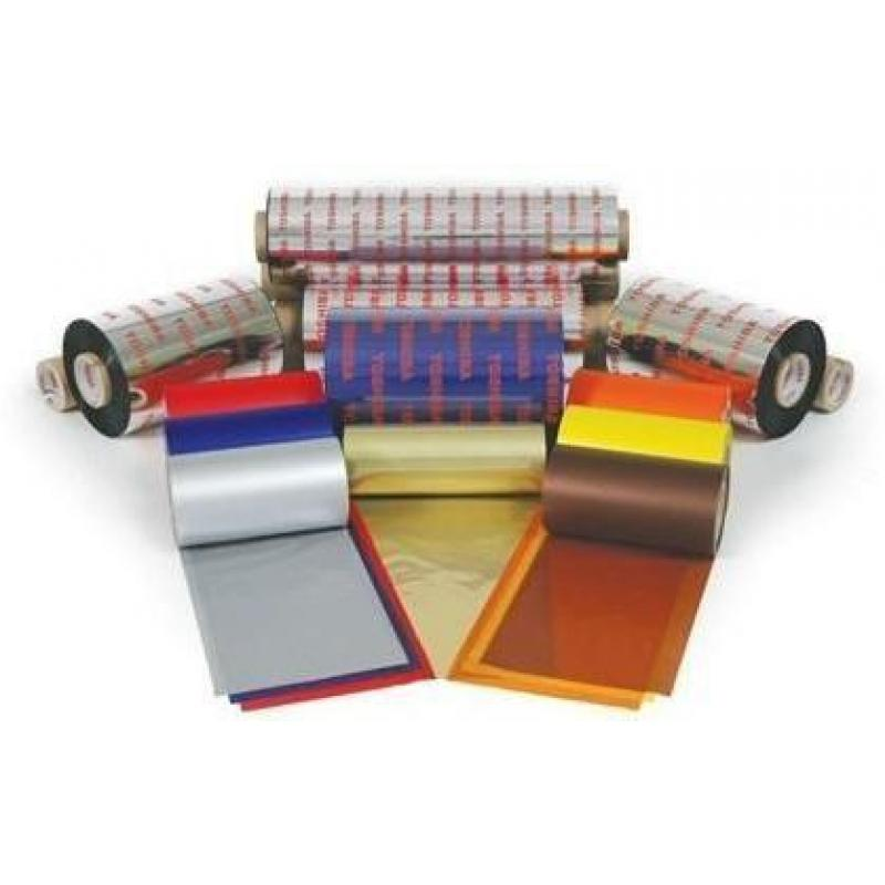 Ribbon Toshiba AG2 + wax/resin, black + 112 mm x 600 m, 5 rolls/box, minimum order 71 rolls
