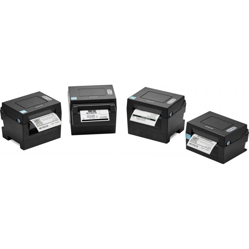Bixolon, Dl410, Label Printer, 203 Dpi, Usb, Ethernet, Autocutter, Black, Power Supply