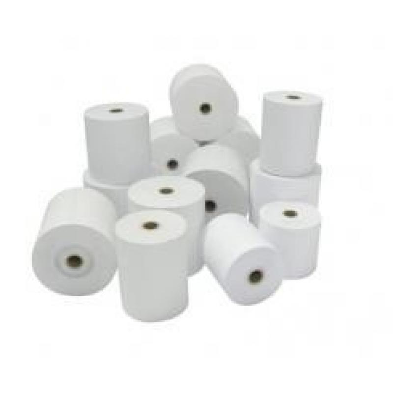 Rollo de papel para tiques, Papel normal, 76mm