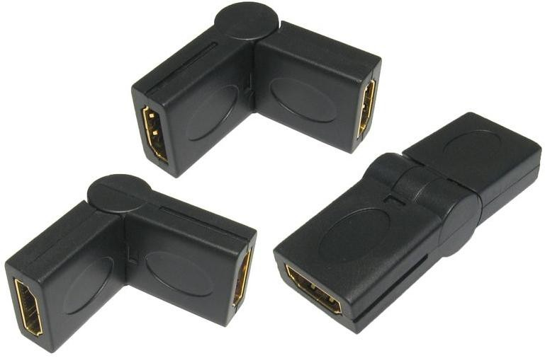 HDMI F - F SWIVEL ADAPTOR