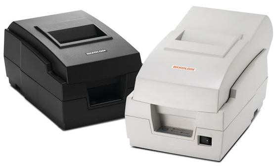 BIXOLON, SRP-270CG, IMPACT PRINTER BLACK SERIAL INTERFACE AUTO CUTTER, P/S INCL