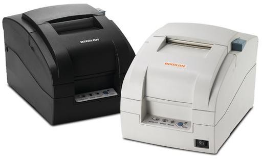 BIXOLON, SRP-275IICP, IMPACT PRINTER WHITE PARALLEL INTERFACE AUTO CUTTER, P/S INCL