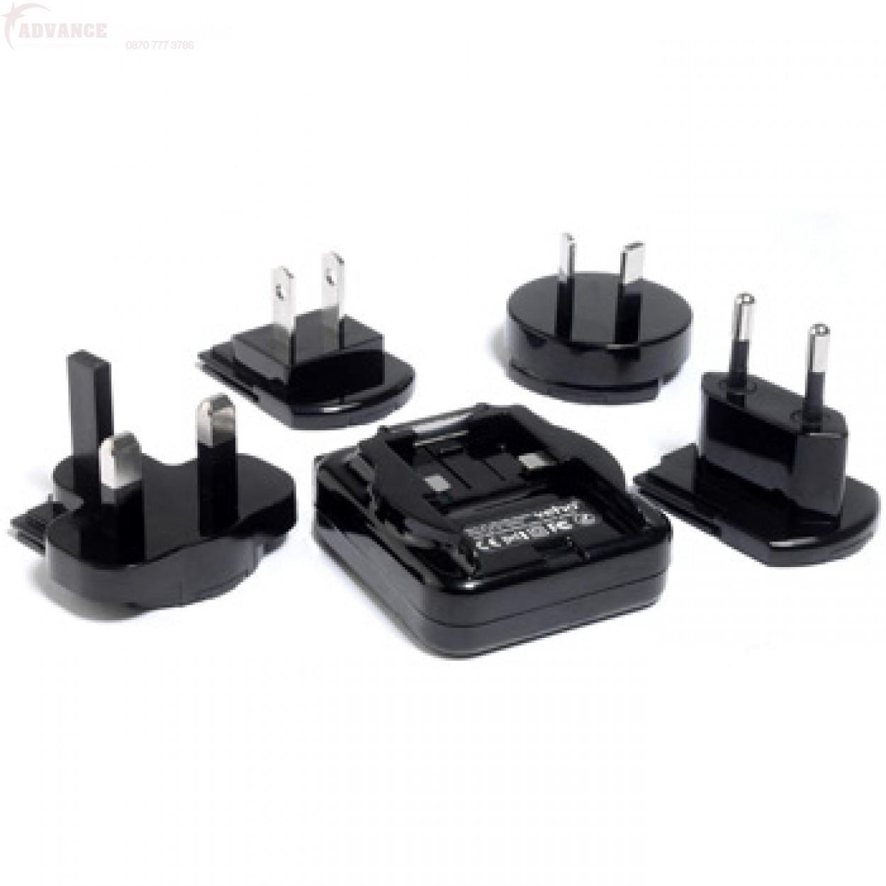 Dolphin 5100, 6100, 6500 and 7600 wall power supply adapter - UK plug, included in each terminal