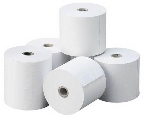 Thermal paper roll FSC certificated, 80x80x12
