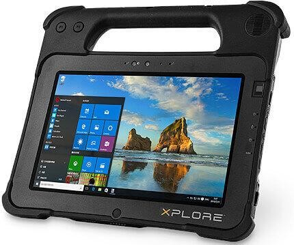 Xplore Tableta Robusta, XPAD L10, VAD, i5, 8 GB, WWAN w/GPS, 128 GB SSD, Win10, EU PWR, Std Bat,