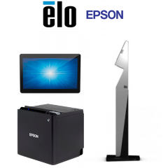 Ticket Printer, Touch Screen & Computer LC Kiosk-Solutions-Elo-Epson
