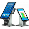 Elo Wallaby Self-Service stand, floor extension