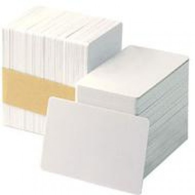 CARDPLASTICCR80/030PVCCARD / WHITYRAET - PACK X500 IN