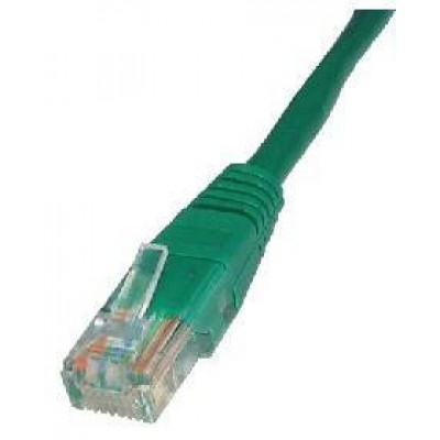 PATCH CABLE 1M CAT5E UTP GREEN
